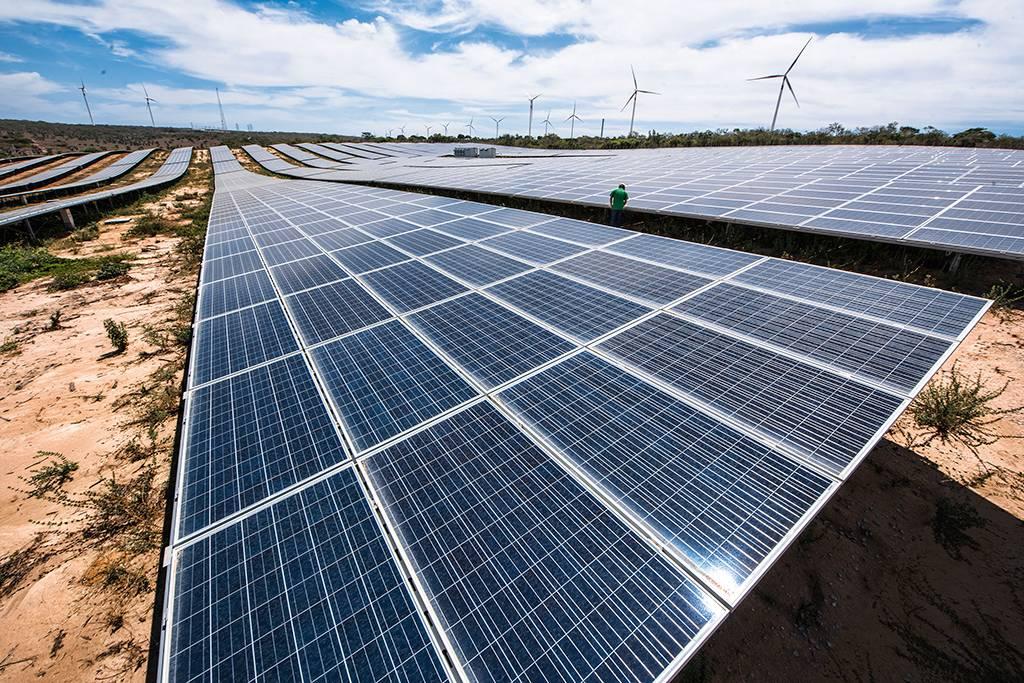 Painéis de energia solar - energia solar no Brasil