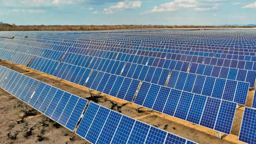 Usina – energia solar – Minas Gerais