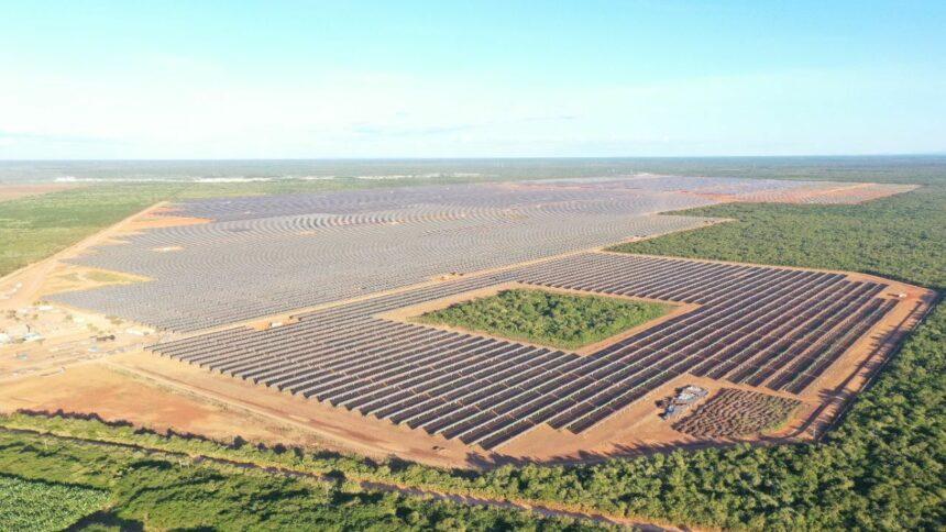 Usina – energia solar – Ceará