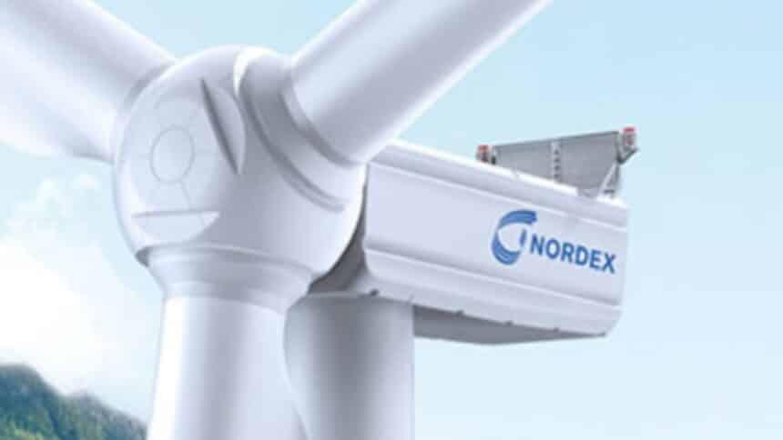 N163 6.X nordex turbina eólica energia