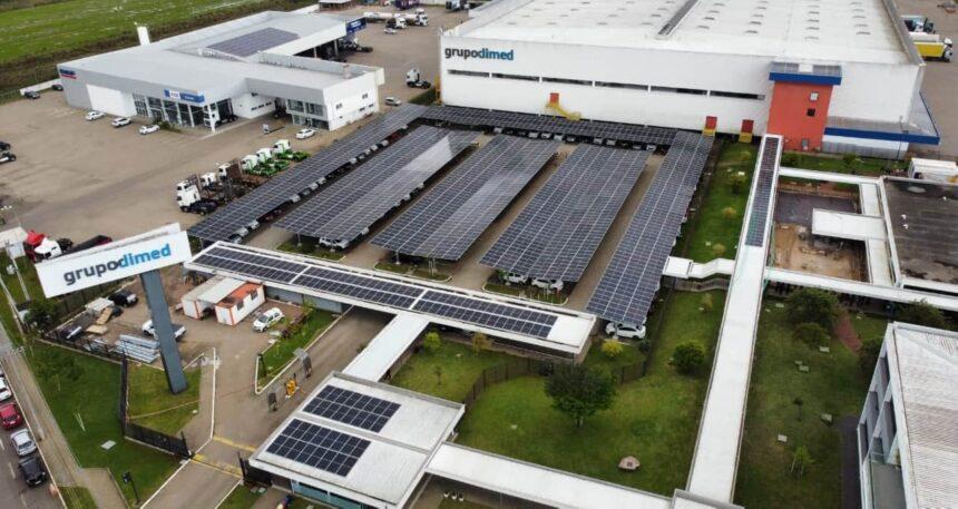 Usina – energia solar – Rio Grande do Sul