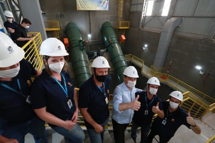 Projeto do Governo do Estado com a Celesc foi inaugurado e contou com a participação do governador Carlos Moisés